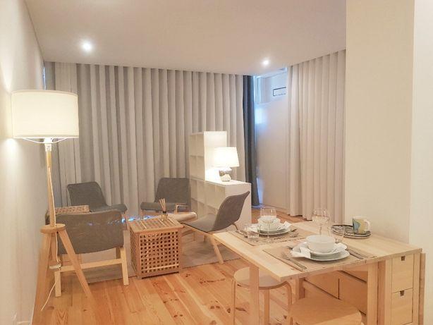 Apartamento confortável, moderno e mobilado no centro do Porto