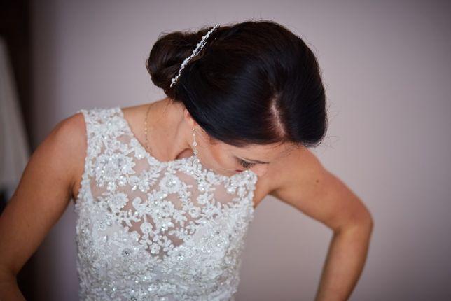 Najpiękniejsza suknia ślubna rozm. 36