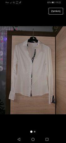 Damska biała koszula