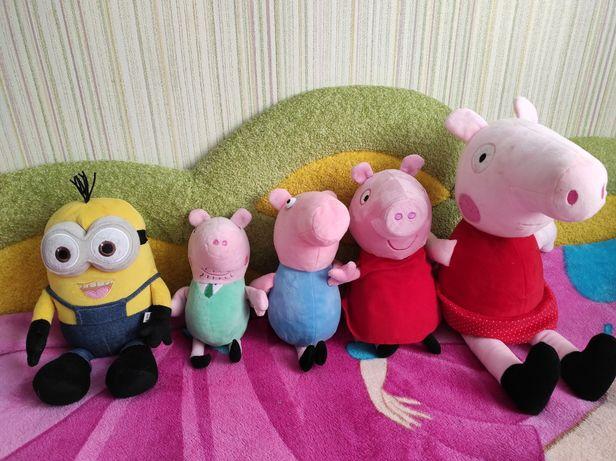 Свинка Пеппа (семья)