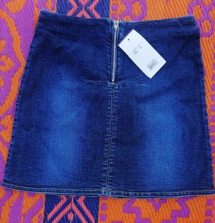 Spódniczka jeans LILA blu.