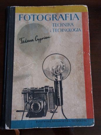 Fotografia technika i technologia Tadeusz Cyprian