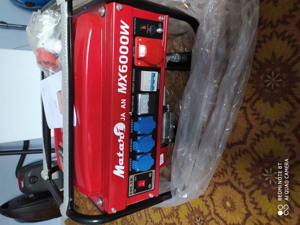 Бензиновий генератор Matari MX6000W