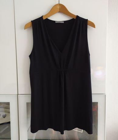 Bluzka ciążowa 40 czarna koszulka top M&S L ubrania odzież