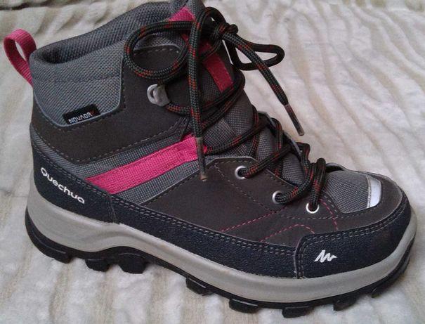 Ботинки Quechua waterproof. Деми-Зима