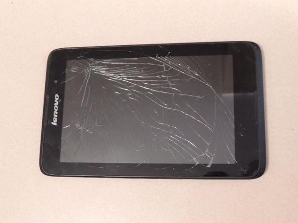 Tablet Lenovo -zbita szybka, tablet działa