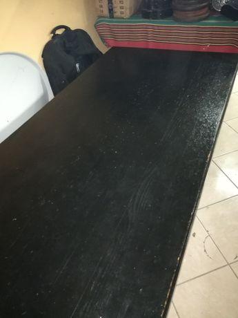 Ława bardzo solidna - stół