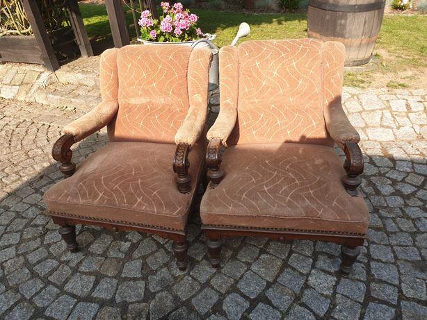 Dwa fotele  piekne