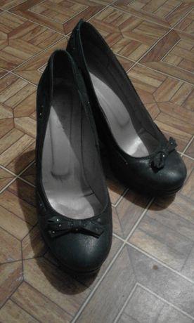 Туфли кожаные р.39