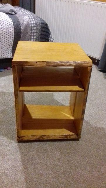 szafka słupek półka komoda nocna sosna