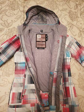 Женская Сноубордическая Лыжная куртка пуховик 686