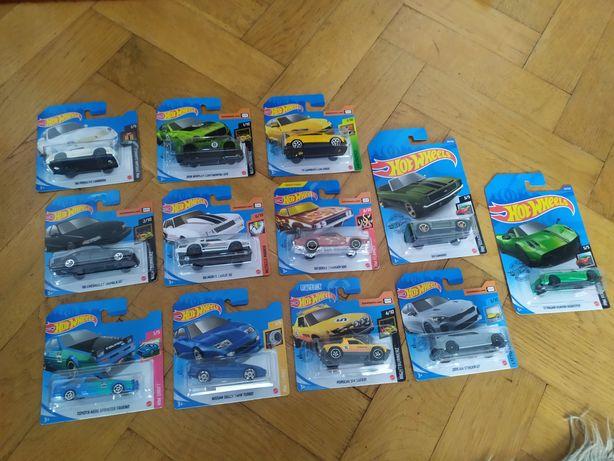 nowe resoraki Hot Wheels 1:64 modeliki autka modele auta prezent