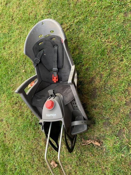Fotelik rowerowy Hamax Siesta odchylany + uchwyt montażowy