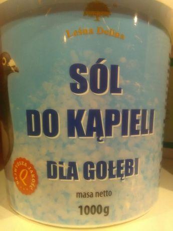 Sól do kąpieli dla gołębi Leśna Dolina 1 kg