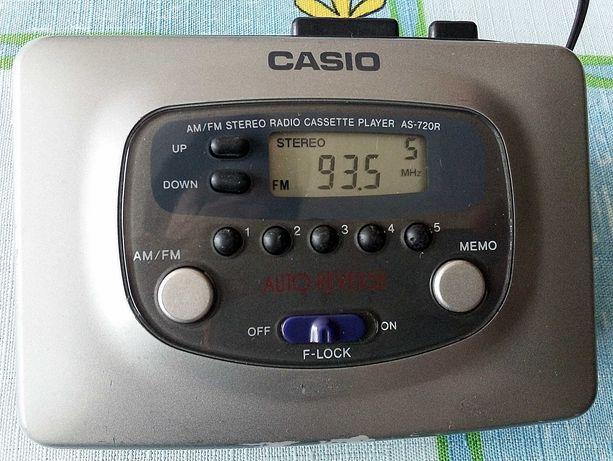 Walkman CASIO AS-720R z radiem