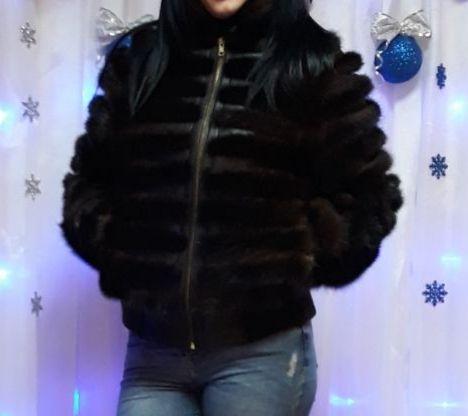 Норковая шубка-куртка