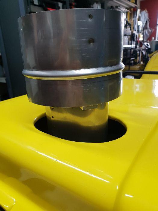 Karcher kominek wylot deflektor spalin V2A fi 125,150,160 i inne Odolanów - image 1