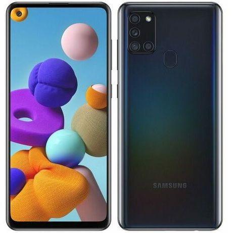 Smartfon SAMSUNG Galaxy A21s czarny nowy gw 2lata nie otwierany