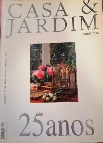 Revista Casa & jardim - vários números