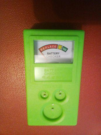Тестер батареек