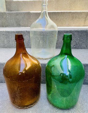 Garrafoes de vidro