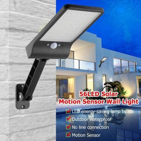 """Iluminação Solar""""com comando e detector de movimento"""""""