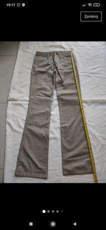 Spodnie sztruksowe. Nowe z metkami