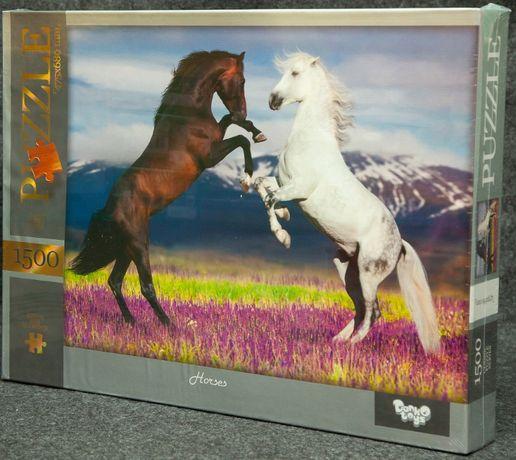 Новый пазл Лошади на 1500 элем