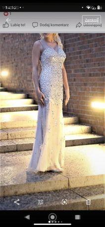 Wyjatkowa suknia wieczorowa/ na slub/ wesele