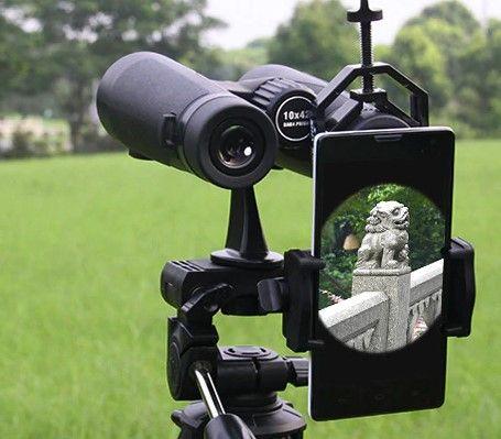 Adaptador de smartphone para binóculos e telescópios (novos)