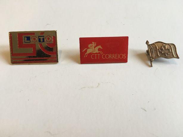 Pins de coleção e porta-chaves raros