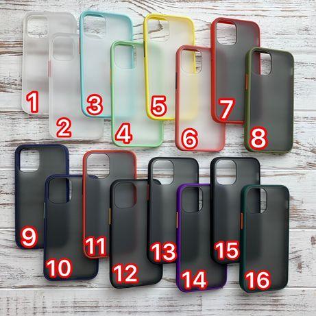 Чехол противоударный iphone 6 7 8 plus x xs xr s r 11 12 mini pro max