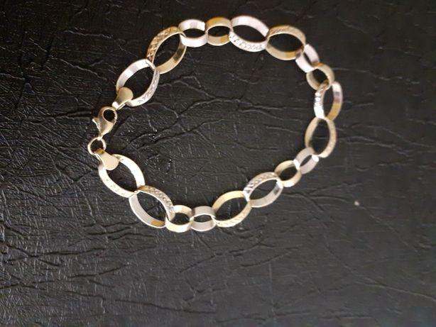 Śliczna złota bransoletka 585