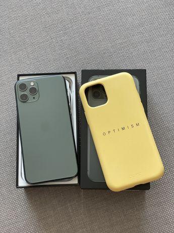 Продам телефон Iphone 11 pro 256gb midnight green зеленый оригинал