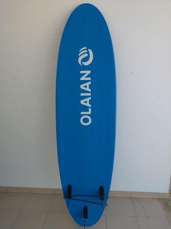 Prancha Surf 7'0'' com quilhas e leash