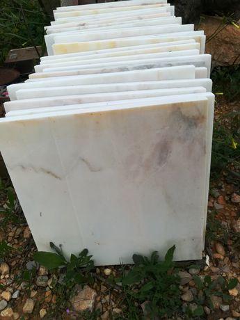 Peças mármore branco 30x30