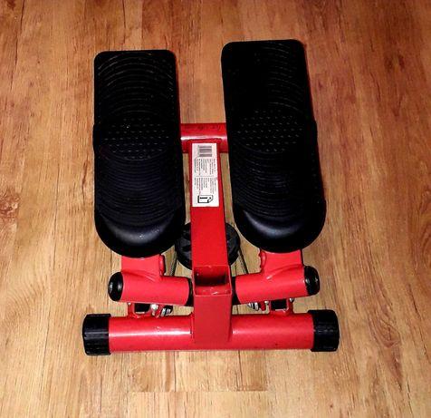 Stepper skrętny hms / czerwony stepper do ćwiczeń / gym