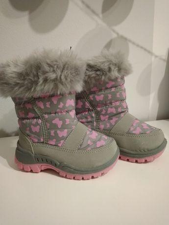 Nowe śniegowce dla dziewczynki 22
