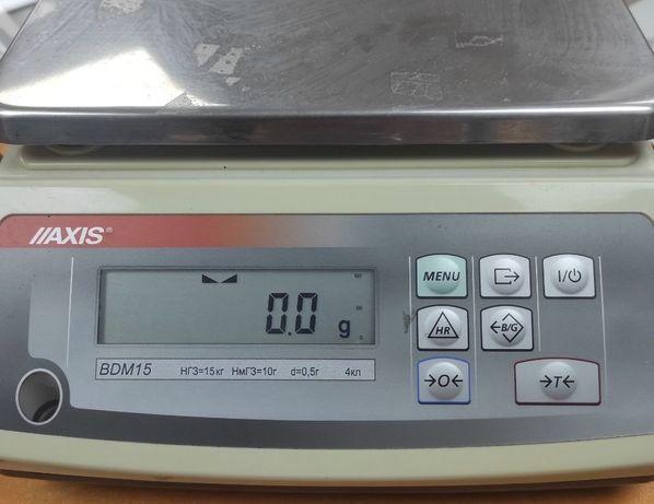 Весы лабораторные AXIS BDM15