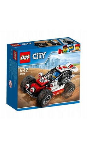 Lego City 60145 Łazik, Wyścigówka terenowa