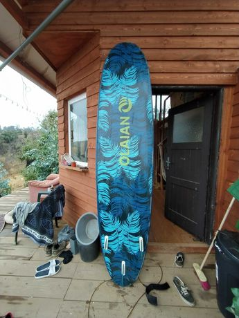 Prancha de surf 8'6 decathlon surfboard