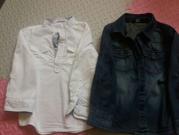 Biała koszula H&M