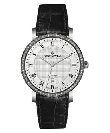 Швейцарские часы Continental 12201 (женские, кварцевые, ремень кожа)