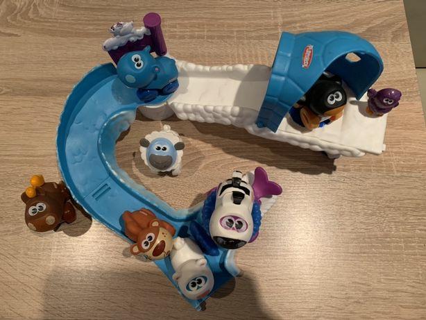 Lodowa zjeżdżalnia Playskool ZOO zwierzątka