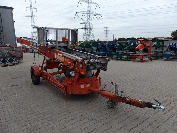 Drabina budowlana winda dekarska BOCKER HD37 Wyciąg 250 kg