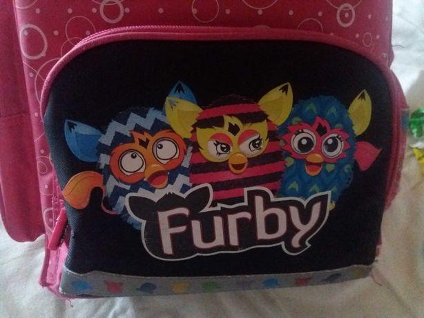 Furby -plecak ,tornister usztywniany