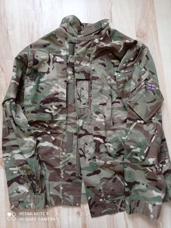 Brytyjski mundur mtp bluza spodnie