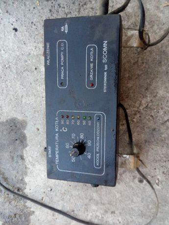 sterownik do pieca CO scomn, dzwiczki z elektromagnesem