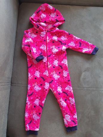 Pajac ciepły piżama pepa 98