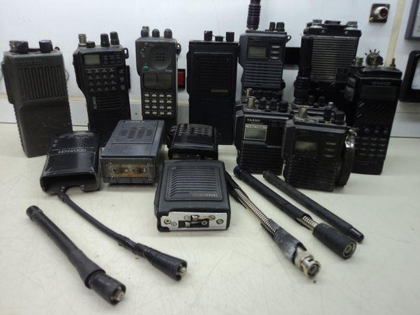 Lote se 15 Rádios portáteis para recuperar o peças